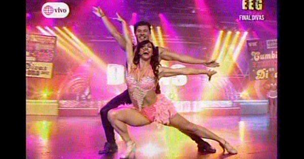 Actualidad Actualidad Esto es guerra: con estos bailes Paloma Fiuza conquistó a los nueve jurados de 'Divas'