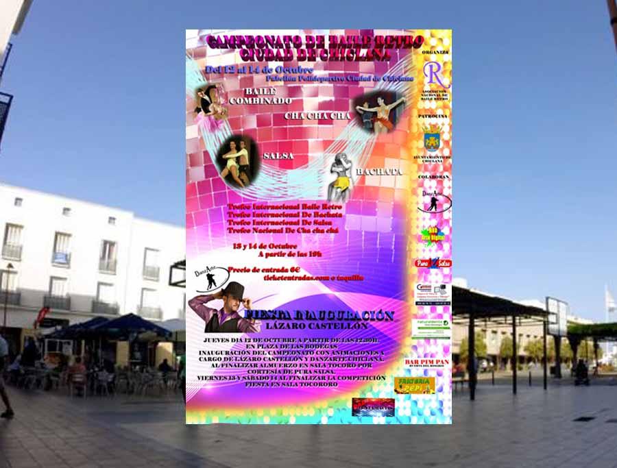 Campeonato en Chiclana Octubre 2017 Información La Plaza de las Bodegas acogerá la Gran Fiesta previa al Campeonato de Baile Retro Ciudad de Chiclana