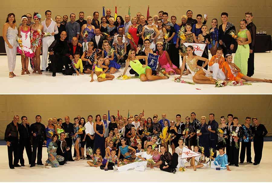 Campeonato en Chiclana Octubre 2017 Información Cerca de cien bailarines deslumbraron en el Campeonato de Baile Retro Ciudad de Chiclana