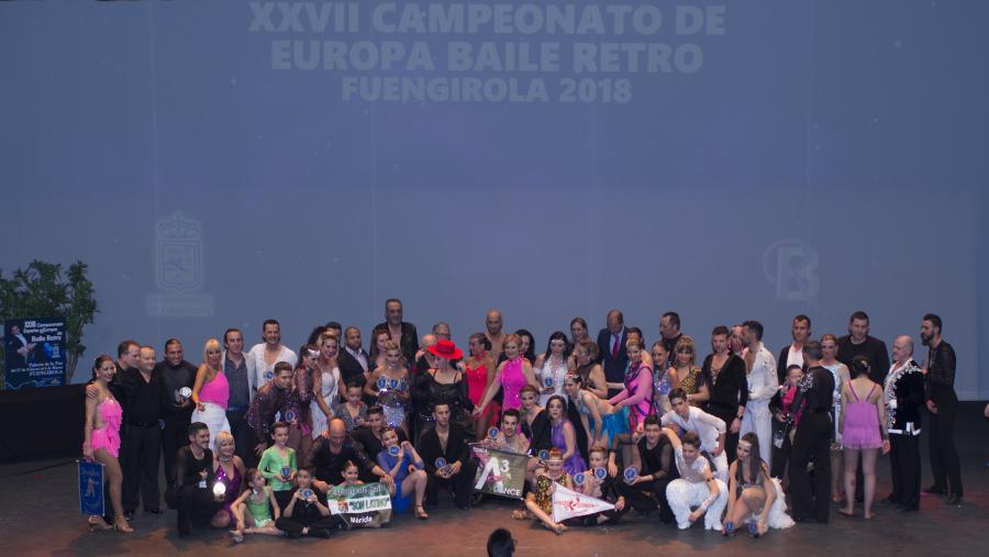 Actualidad Actualidad Brillante Final de los Campeonatos de España de Retro y del Combinado Caribeño en el Palacio de la Paz de Fuengirola