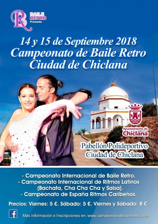 Actualidad Actualidad Adquiere las entradas del Campeonato de Baile Retro Ciudad de Chiclana 2018 en Enterticket