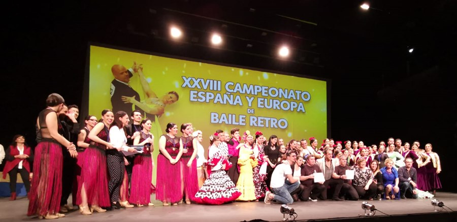 Actualidad Actualidad Broche de oro al XXVIII Campeonato de España y de Europa de Baile Retro con los Campeonatos de Formaciones de Danza Española y del Campeonato de España de Sevillanas