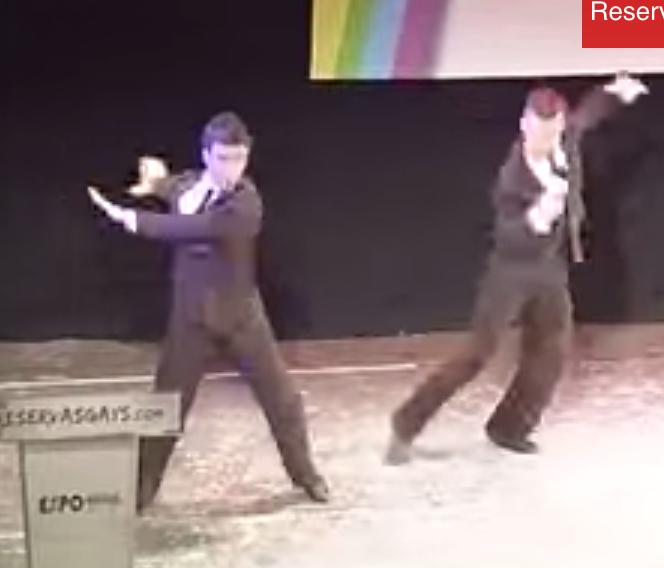 Baile Gay Baile  Gay Campeones de la Final de Tango del Campeonato de Baile Gay